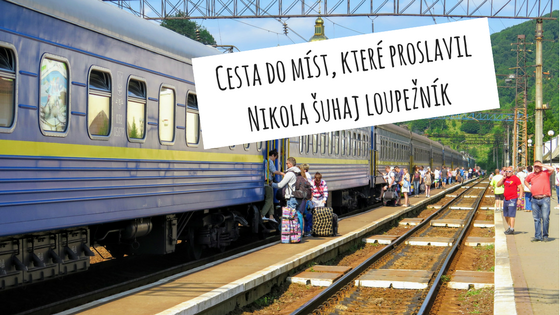 vlaky a autobusy z Prahy na Ukrajinu Koločavu